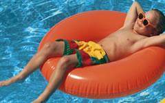 foto vakantie zwemles
