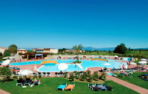 zwemles in de vakantie Gardameer