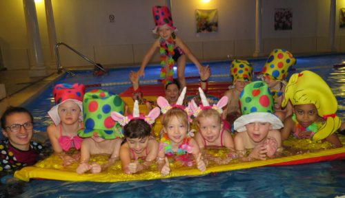 zwemles in Doorwerth (voorjaarsvakantie met carnaval)