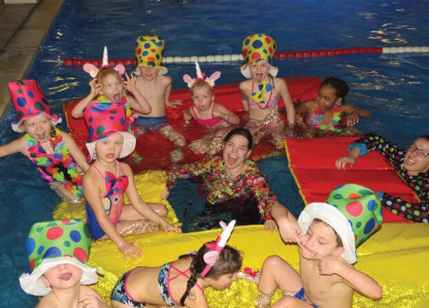 zwemles tijdens carnaval 123jump