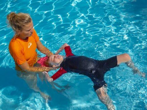 rugzwemmen zwemles in Frankrijk, Italie, Luxemburg, Noorwegen