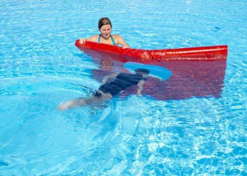 zwemles onder water zwemmen