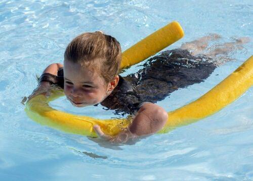 zwemles en pueter survival les