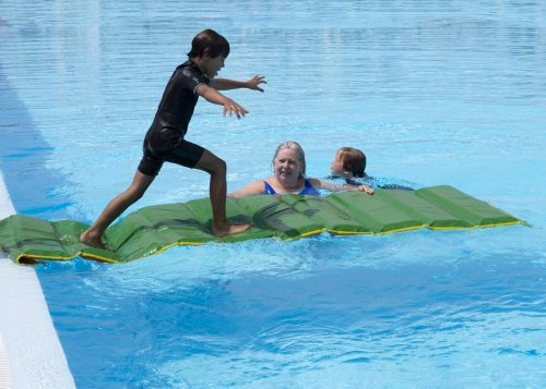zwemles en fun en evenwicht